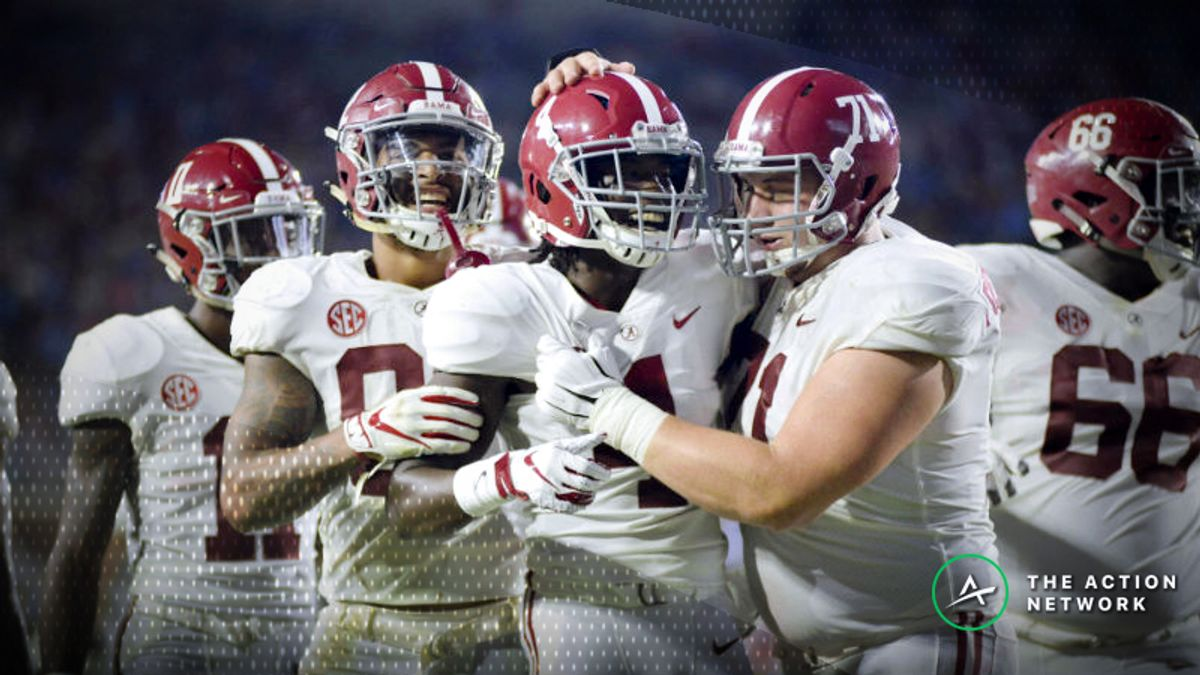 Johnson: Oddsmakers Can't Make Alabama Spreads High Enough article feature image