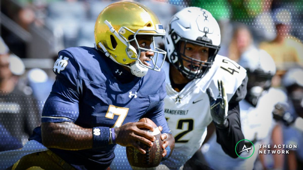 Misleading College Football Scores, Week 3: Notre Dame Escapes Again article feature image