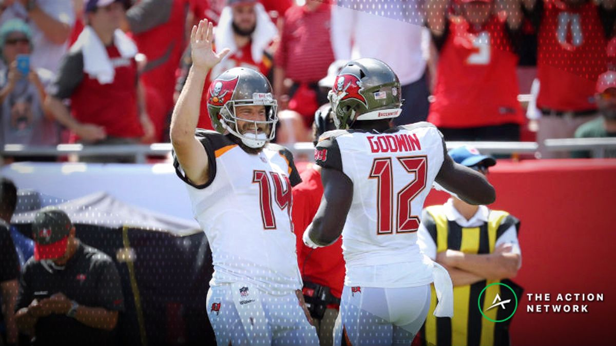 Best Steelers-Bucs MNF Player Props: Chris Godwin Over/Under 36.5 Receiving Yards? article feature image