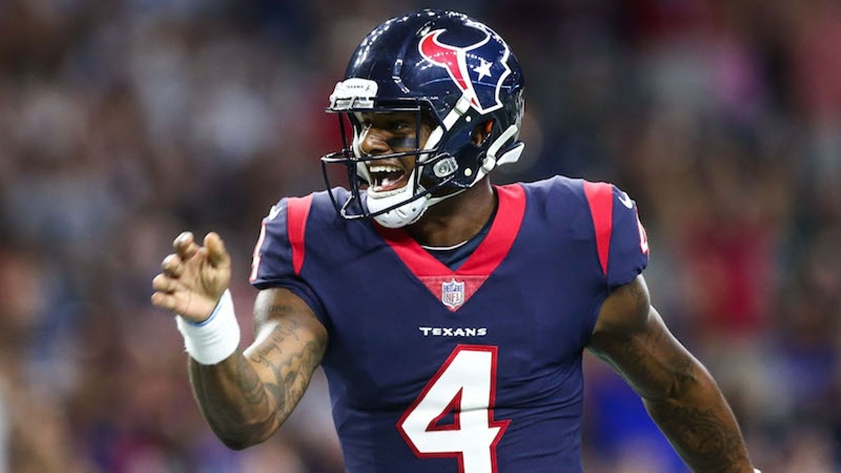 Is Deshaun Watson the Clear-Cut QB2 in Fantasy Football? article feature image