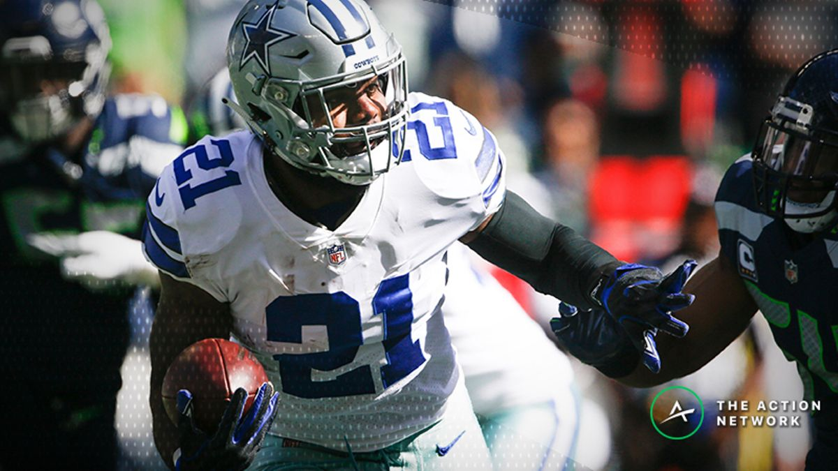 Week 4 Fantasy Football Half-Point PPR Rankings: RB article feature image