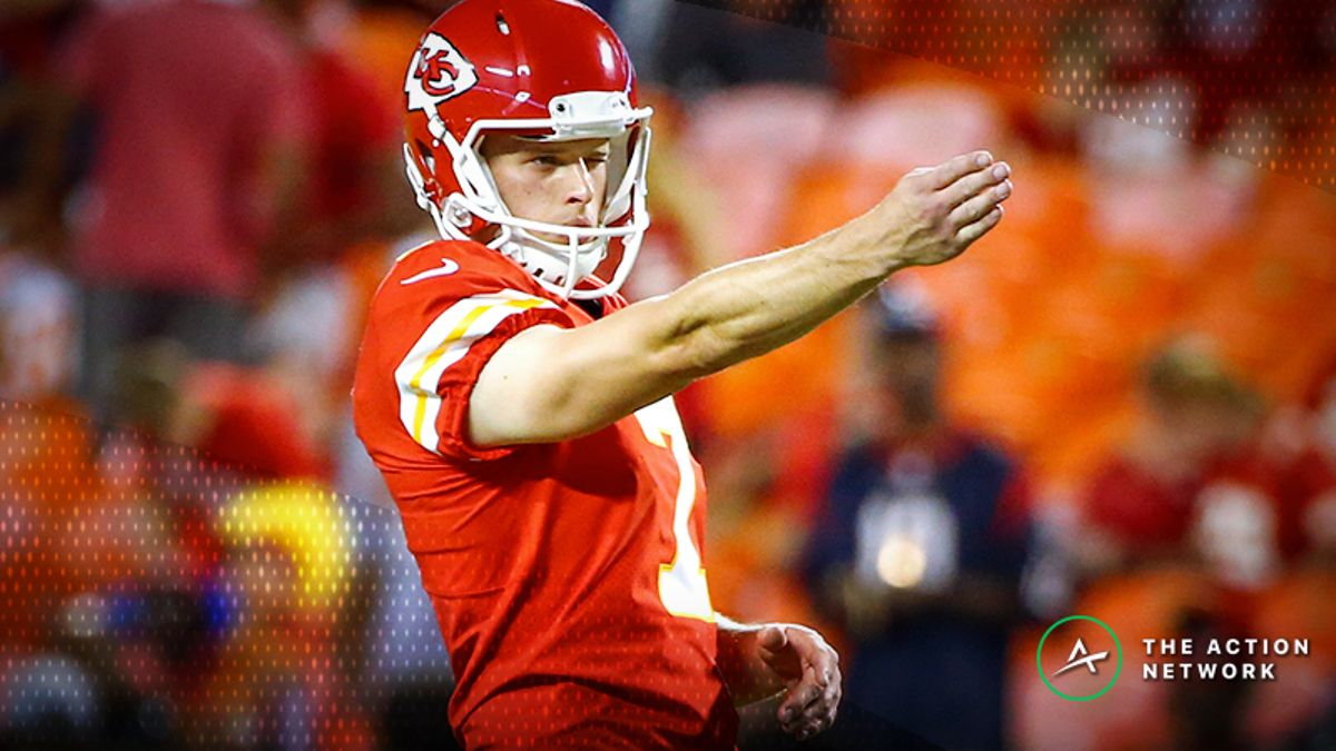 Conference Championships Fantasy Football Rankings: Kickers article feature image