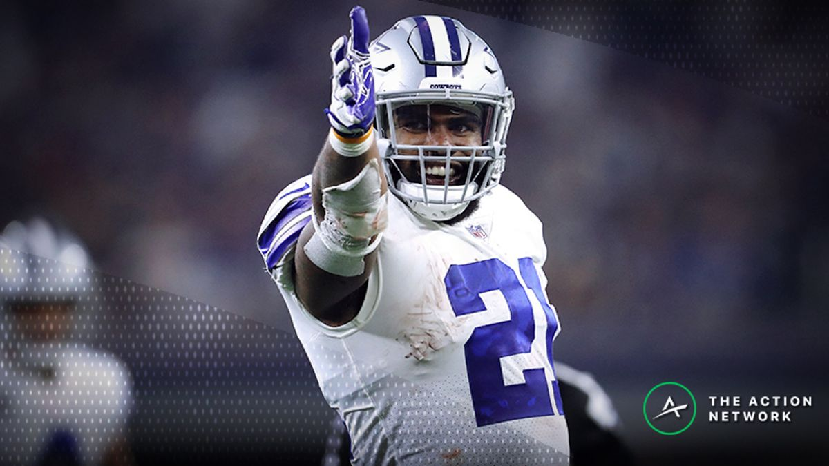 NFL Week 15 Fantasy RB Breakdown: Pay up for Ezekiel Elliott article feature image