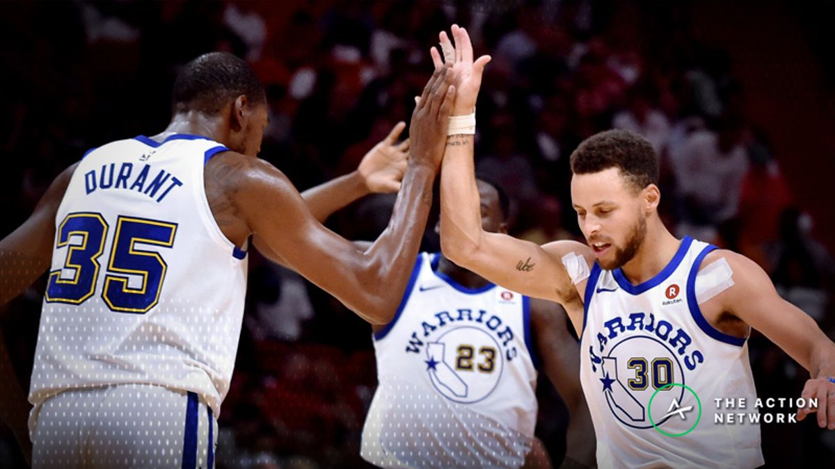 Warriors 2018-19 Season Win Total: Will Golden State Cruise Through Another Season? article feature image