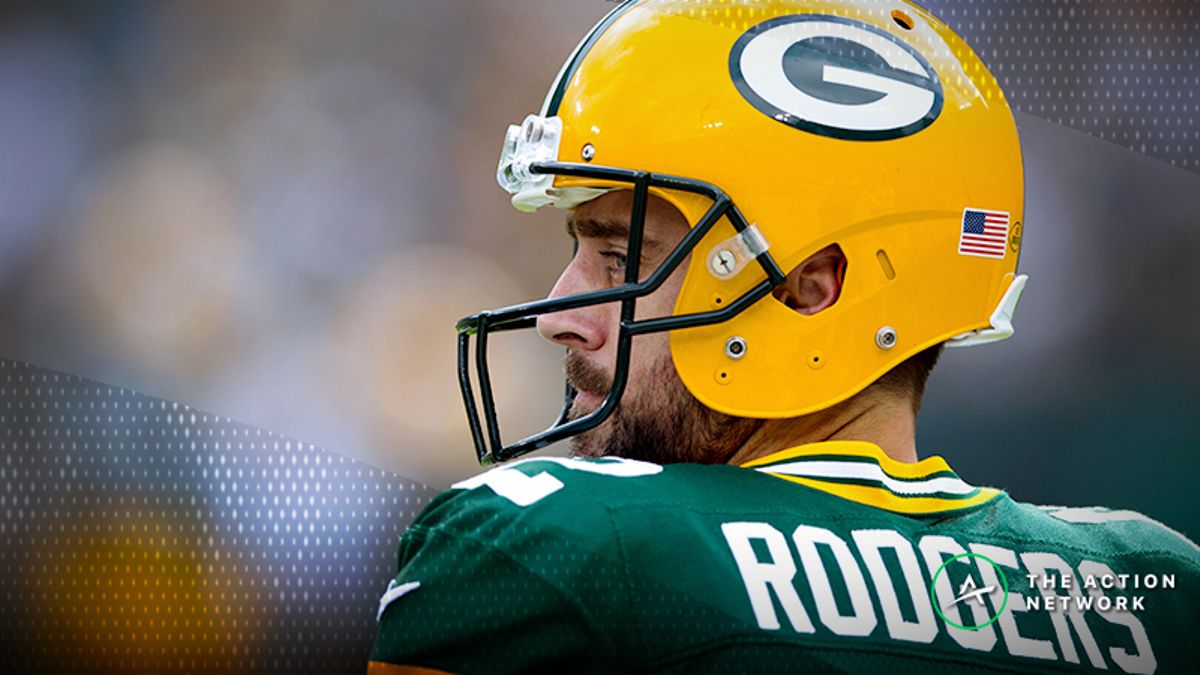 Packers-Redskins Betting Preview: Will Rodgers Hold Up as a Road Favorite? article feature image