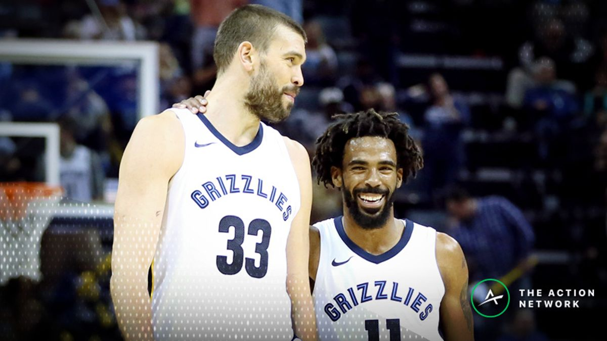 Grizzlies 2018-19 Season Win Total: Can Memphis Get Back Being a Playoff Contender? article feature image