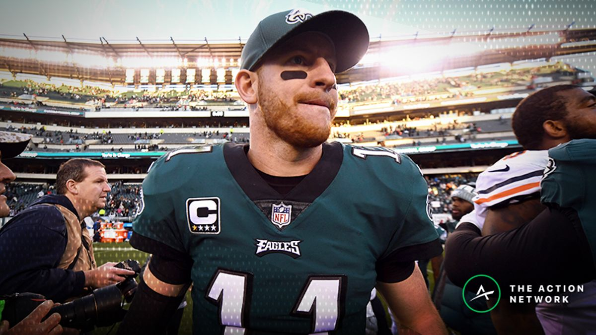 Colts-Eagles Betting Preview: Should You Pick Carson Wentz in His Return? article feature image