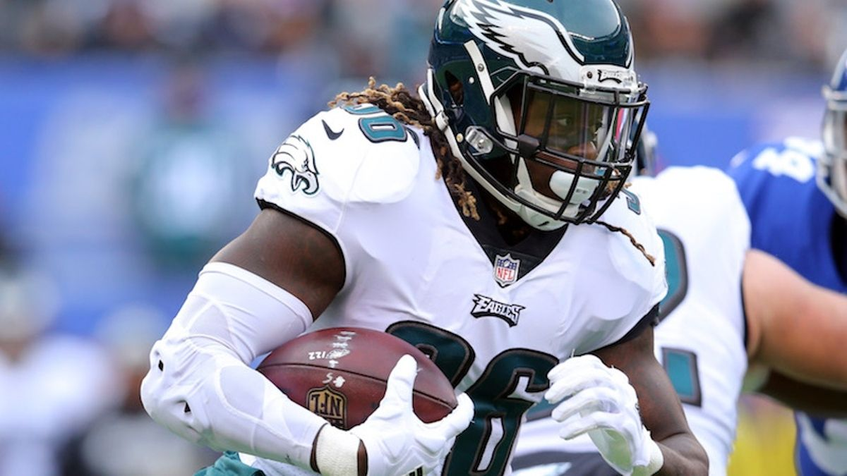 Falcons-Eagles Player Props: Watch Jay Ajayi, Calvin Ridley on Thursday Night article feature image