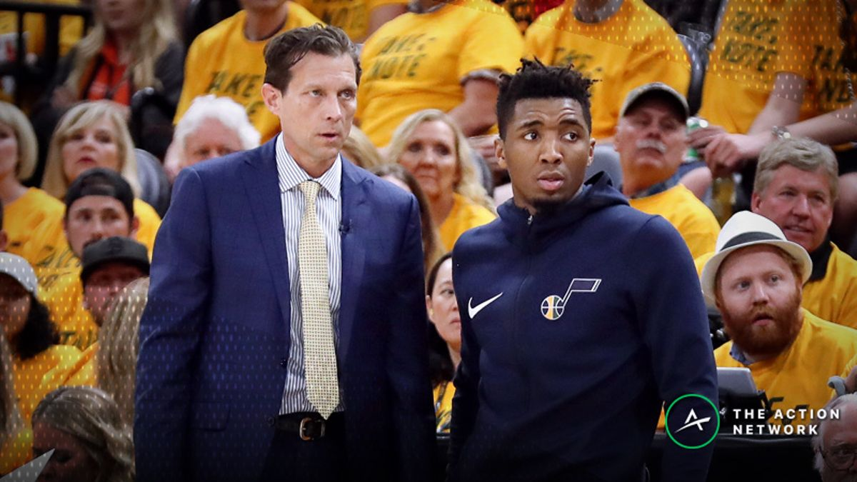 Jazz 2018-19 Season Win Total: Can Utah Make the Leap in Mitchell's Second Season? article feature image
