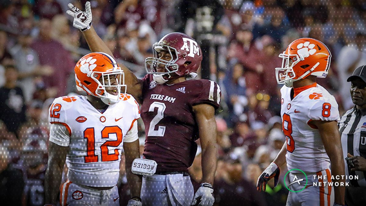 Senkiw: Did Texas A&M Give Bettors A Blueprint of When to Fade Clemson? article feature image