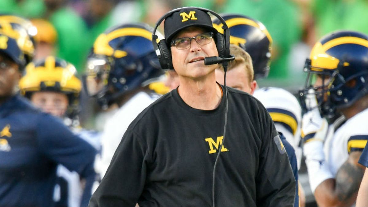 Breaking Down the 'Will Jim Harbaugh Be Fired by 2019?' Prop article feature image