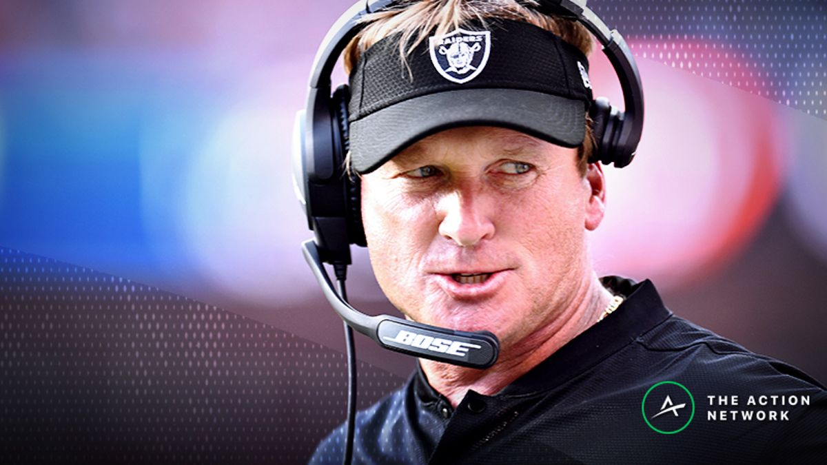 Raiders-Dolphins Betting Preview: Will Jon Gruden & Co. Get Their First Win? article feature image
