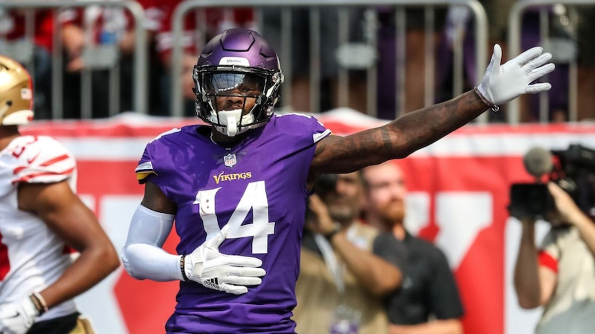 Stefon Diggs Fantasy Football Rankings, 2019 Projections, Analysis, More article feature image