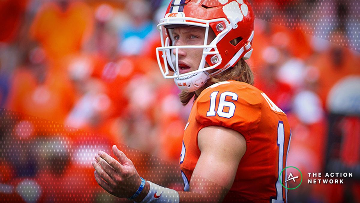 Wilson: Why I Bet Trevor Lawrence To Win Heisman at 300-1 and How I'm Hedging article feature image