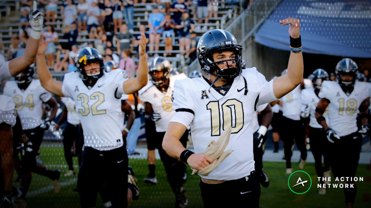 UCF-Florida Atlantic Betting Odds: Will Offenses Live Up to the Hype? article feature image