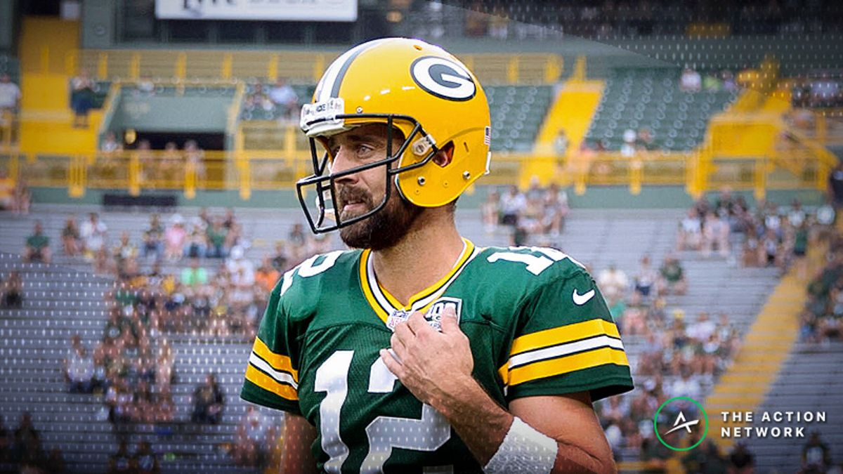 Bears-Packers Betting Preview: Do You Dare Fade Aaron Rodgers at Home? article feature image