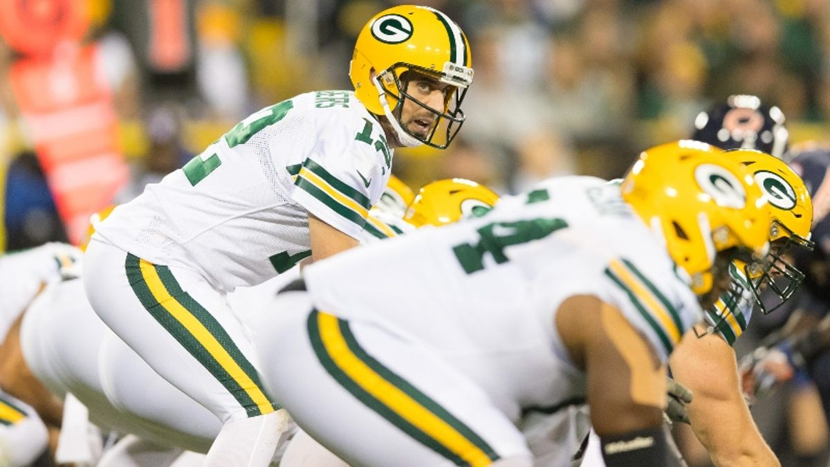 Zylbert's NFL Over/Unders: How Will Aaron Rodgers Fare In Return Opposite Bears? article feature image