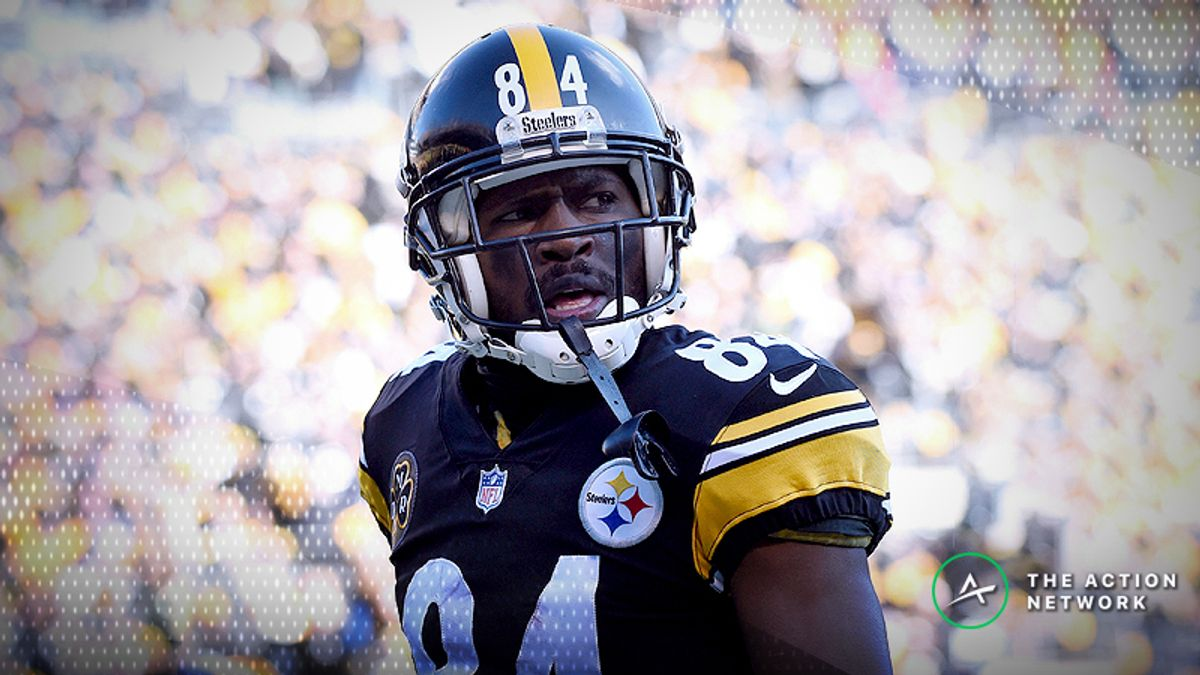 Betting Odds Suggest Antonio Brown Will Stay in Pittsburgh article feature image