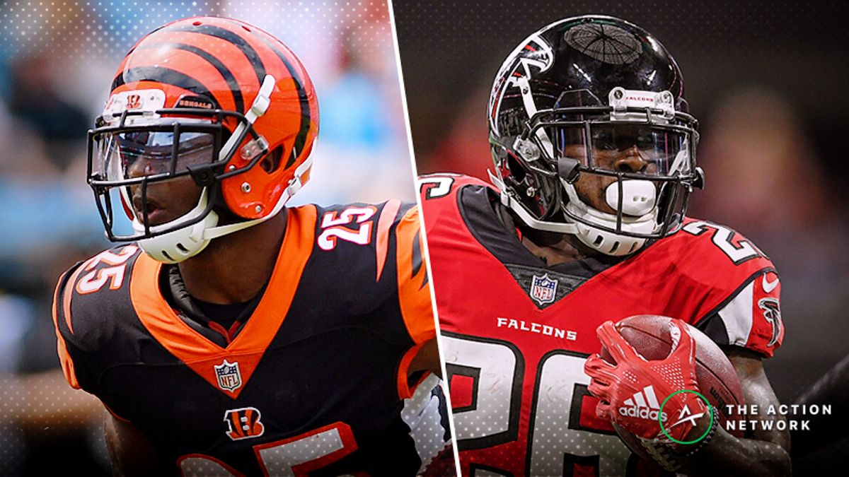 Bengals-Falcons Betting Preview: How to Handle This Rising Over/Under article feature image