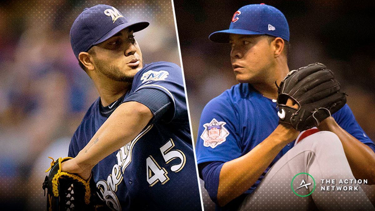 Tuesday Sharp Report: Pros Betting Brewers-Cubs, Two Other Games article feature image
