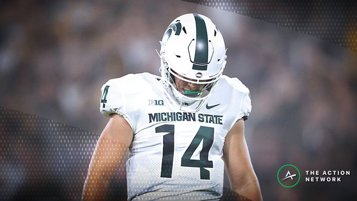 National Championship Odds: Michigan State Among Week 2's Biggest Losers article feature image