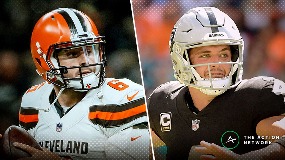 Browns-Raiders Betting Preview: Is Baker Mayfield Still Undervalued? article feature image