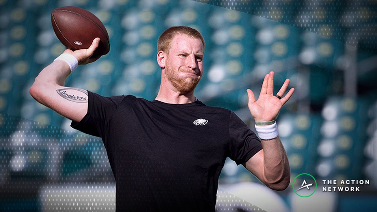 Eagles Open as 6.5-Point Favorites Against Colts in Wentz's Return article feature image