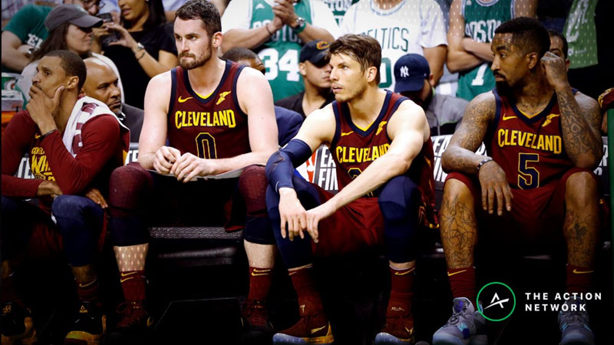 Cavaliers 2018-19 Season Win Total: Can Love Carry Cleveland Post-LeBron? article feature image