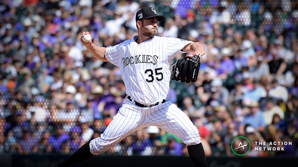 Tuesday's MLB Over/Under: Can You Count on Chad Bettis at Coors Field? article feature image