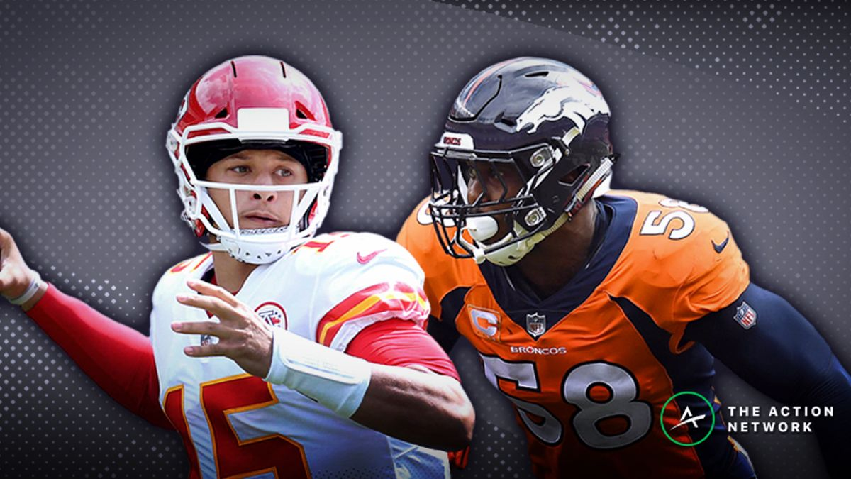 Chiefs-Broncos MNF Betting Preview: How to Bet the Season's Highest Over/Under article feature image