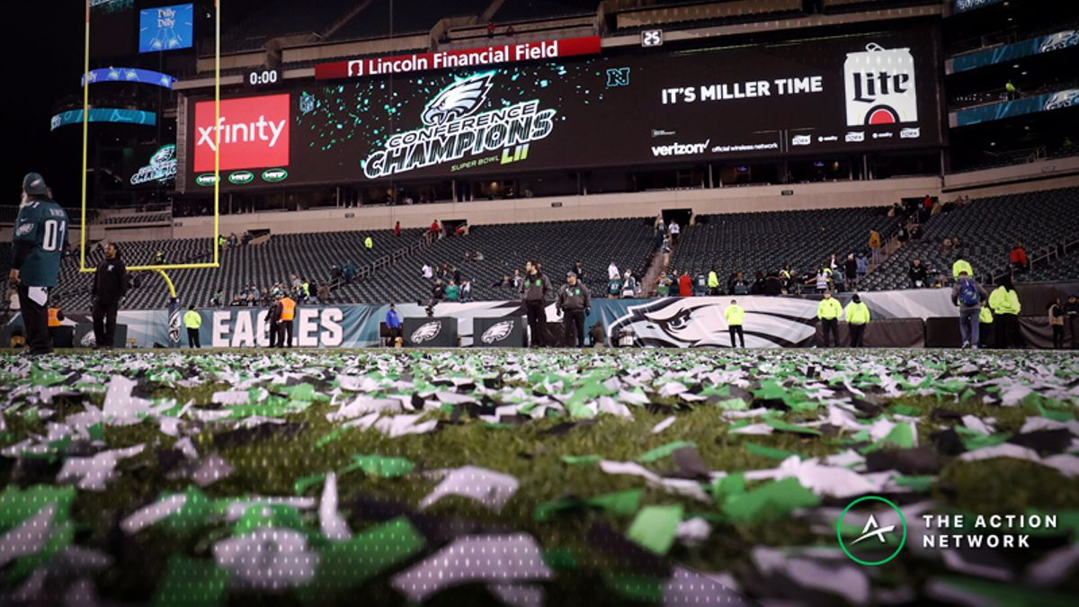 Early Week 5 NFL Odds: Eagles Favored Over Vikings in NFC Championship Rematch article feature image