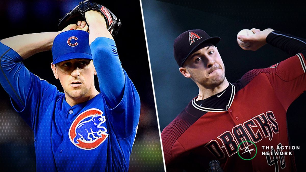 Monday Sharp Report: Pros Betting Cubs-Diamondbacks, Three Other Games article feature image