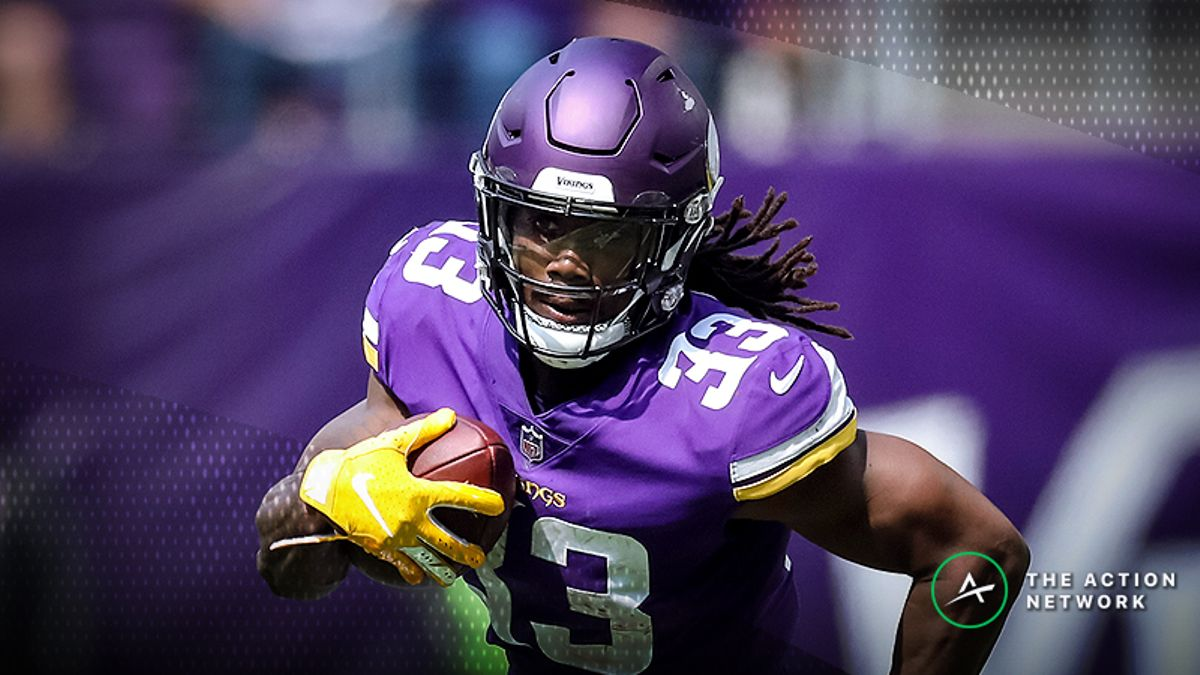 Best Vikings-Rams TNF Player Props: Dalvin Cook Over/Under 34.5 Receiving Yards? article feature image