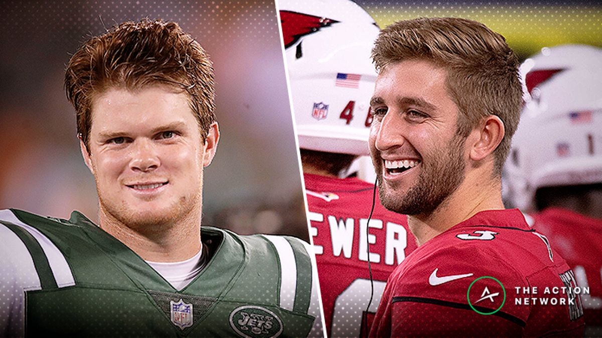 Biggest NFL Week 4 Line Moves: Bettors Buying Darnold, Rosen article feature image