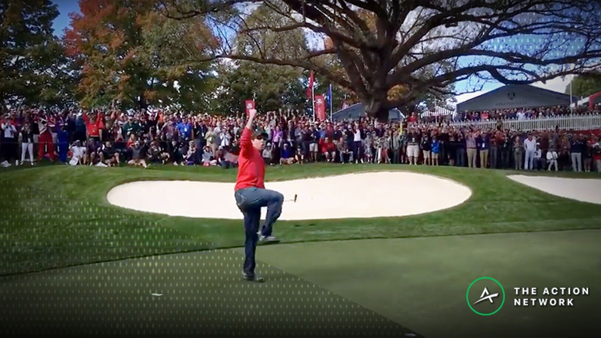 Sobel: The Fan Who Won a $100 Bet vs. 3 Tour Pros at 2016 Ryder Cup article feature image