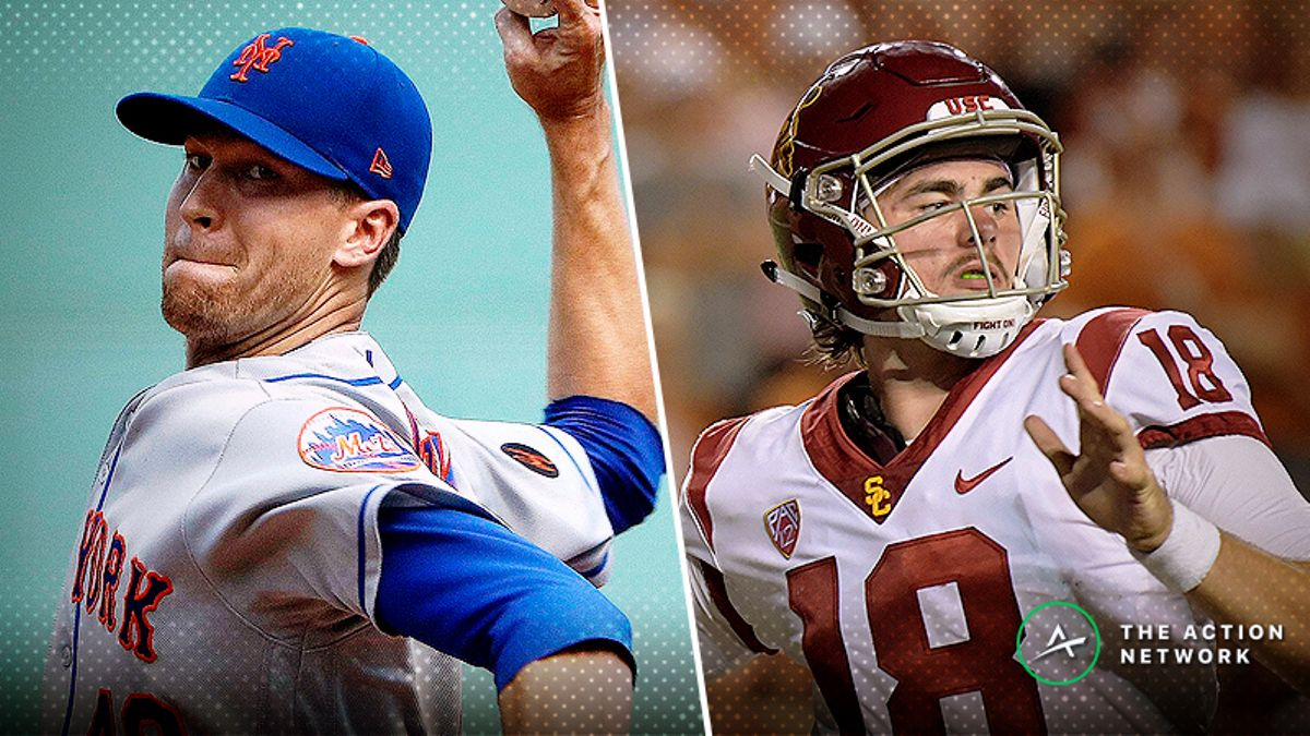 BlackJack's Friday MLB and CFB Bets: A Gift for Jacob DeGrom article feature image