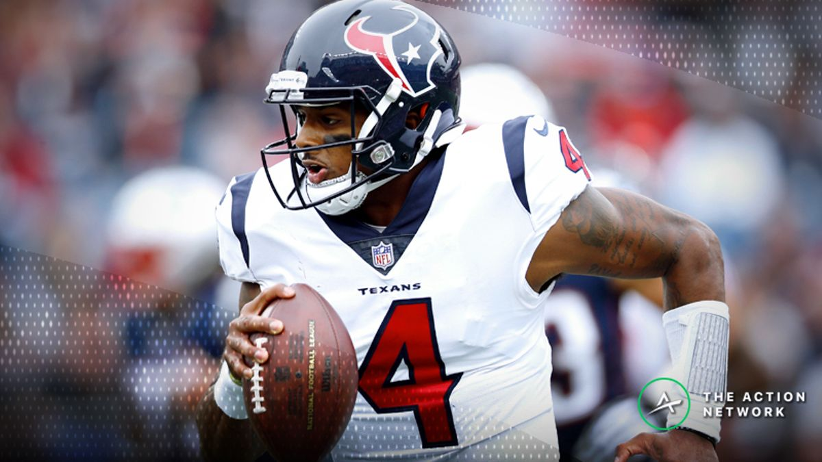 Find Fantasy Football, Betting Value When QBs Run Wild in Texans-Titans Week 2 Matchup article feature image