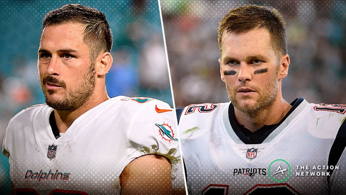 Dolphins-Patriots Betting Preview: Will Tom Brady Really Lose 3 Straight? article feature image