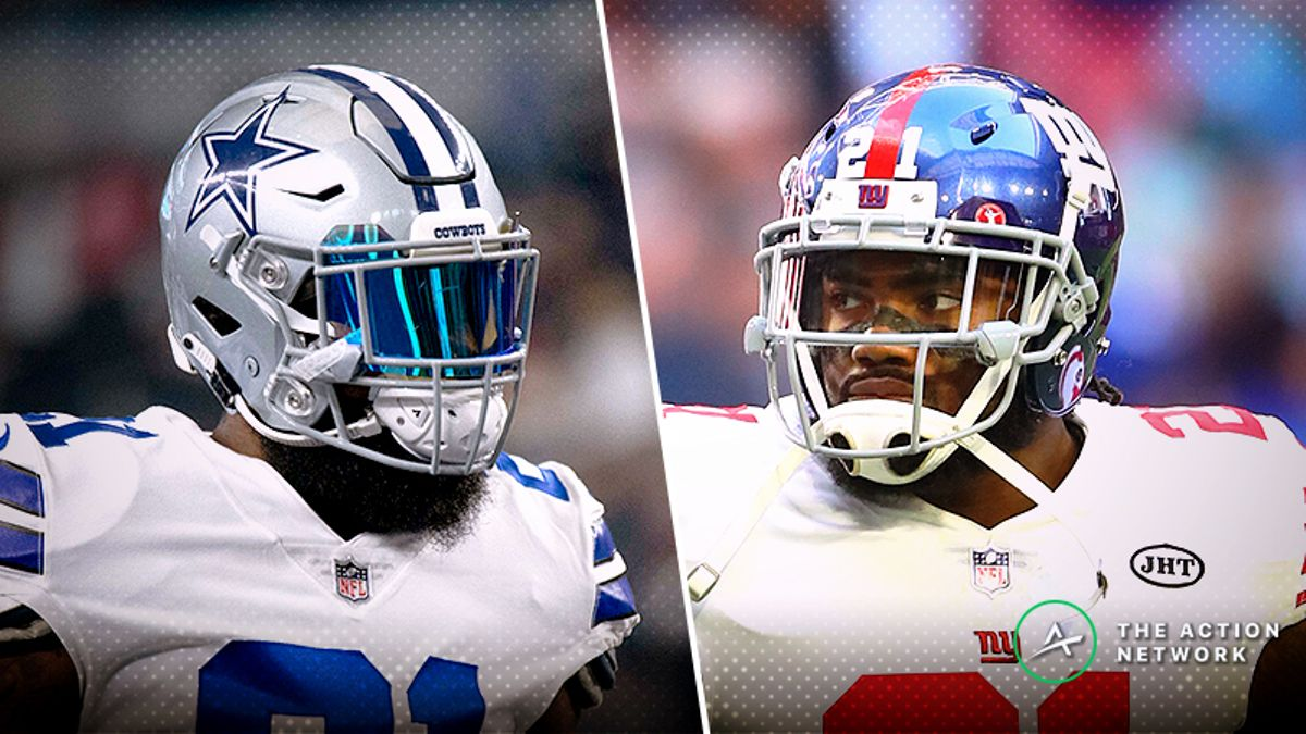 Giants-Cowboys Betting Preview: Should Bettors Fade the Cowboys at Home? article feature image