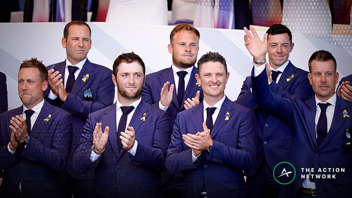 Ryder Cup Day 3 Odds: Team Europe a Sizable Favorite to Lift Trophy article feature image