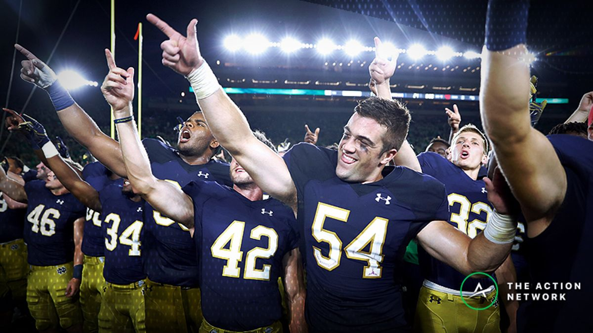 Big Bets Moving Stanford-Notre Dame Line article feature image
