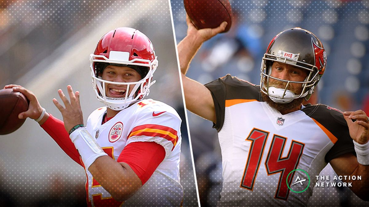 NFL Week 3 Player Props: Can Fitzpatrick, Mahomes Each Throw for 4 Touchdowns? article feature image