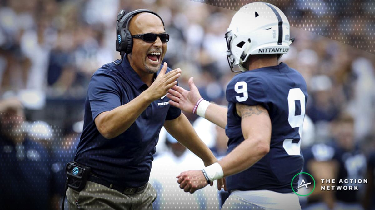 Sharp Action Already Moving Ohio State-Penn State Betting Line article feature image