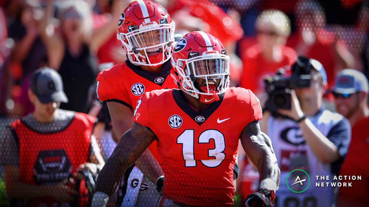 Georgia-Tennessee Betting Preview: Running Game Will Be Key article feature image
