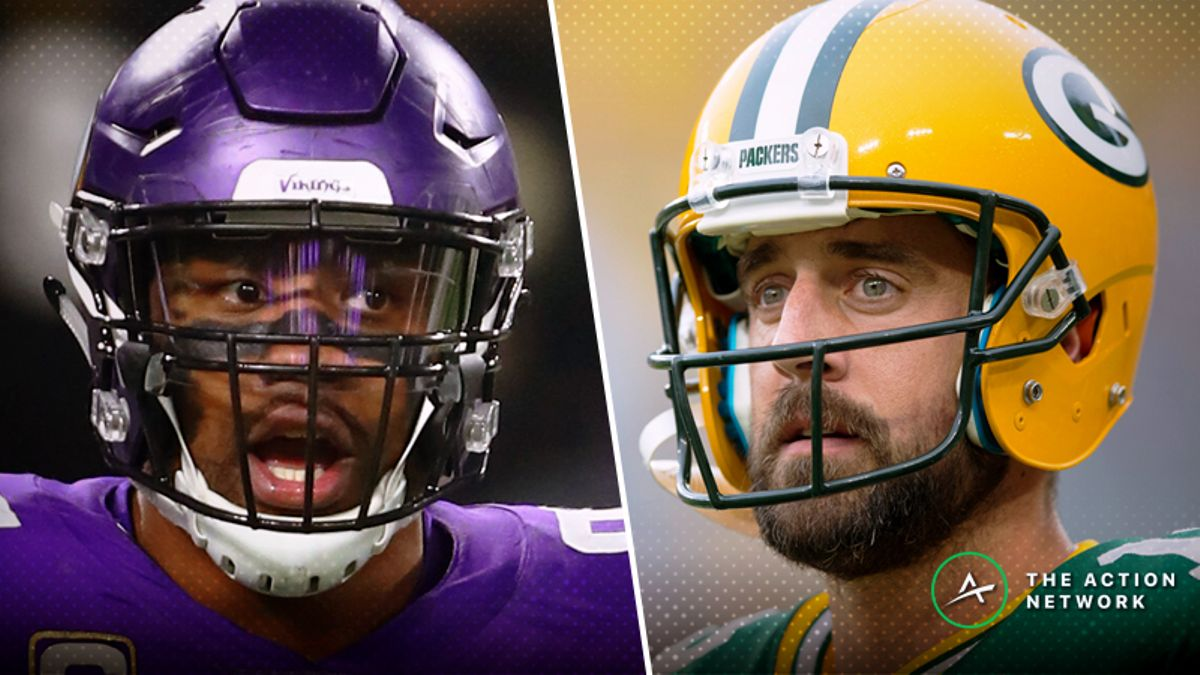 Vikings-Packers Betting Preview: Rodgers Changes Everything article feature image