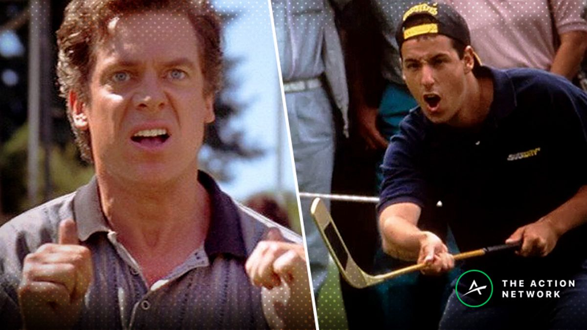 Sharp Movie Rewind: Happy Gilmore vs. Shooter McGavin at the 1996 Tour Championship article feature image