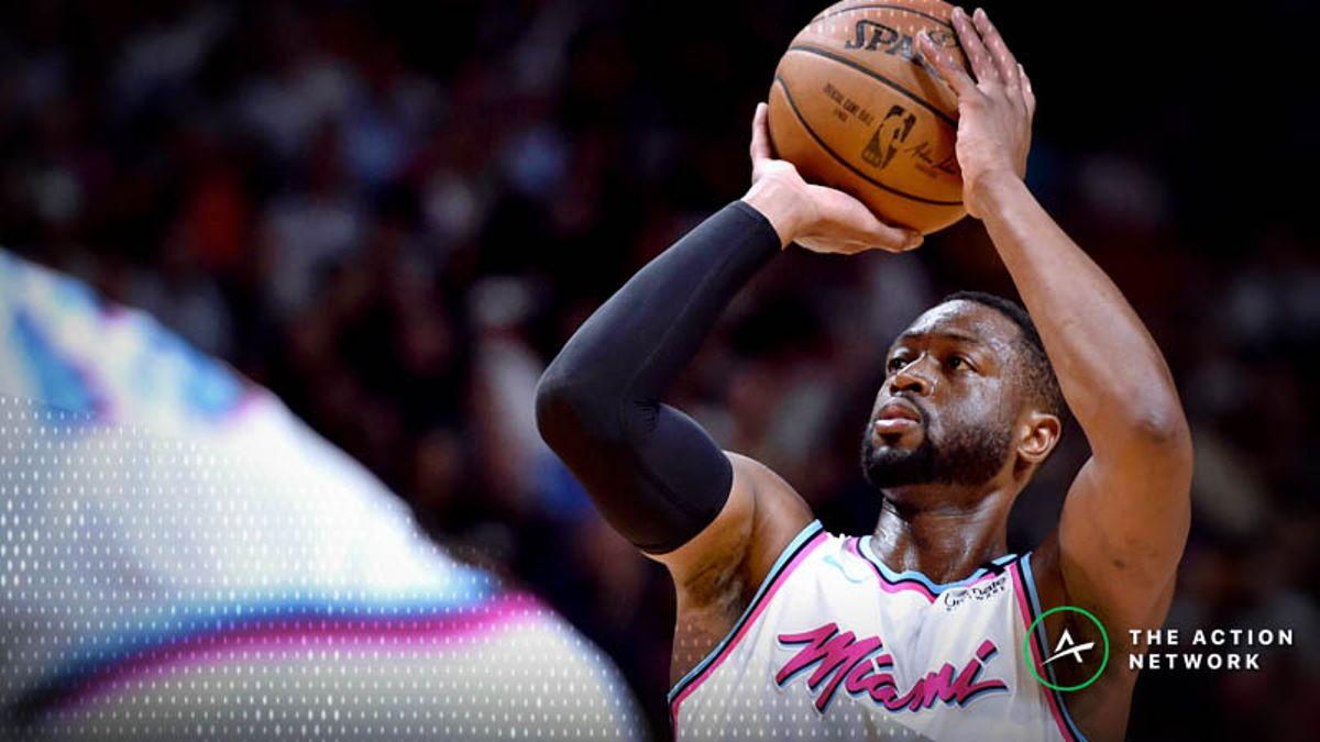 Heat 2018-19 Season Win Total: Can Heat Capitalize on Wade's Farewell Season? article feature image
