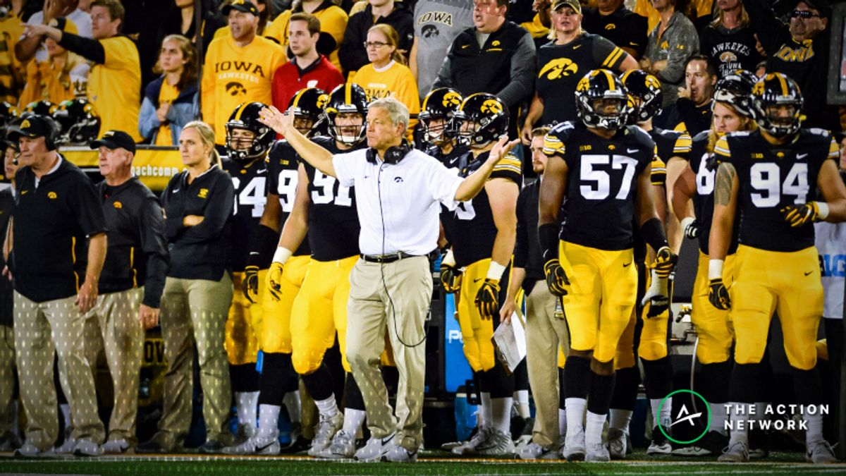 National Championship Odds: Iowa Among Biggest Week 4 Losers article feature image