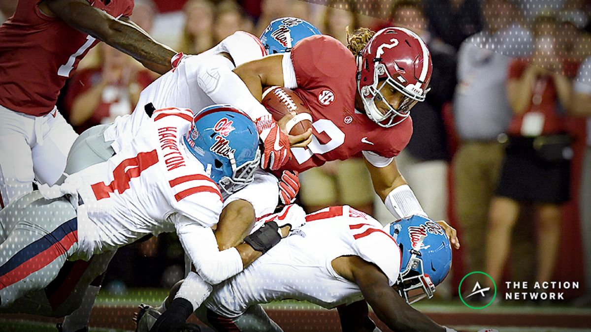 Week 3 College Football Odds: Spreads and Over/Unders article feature image