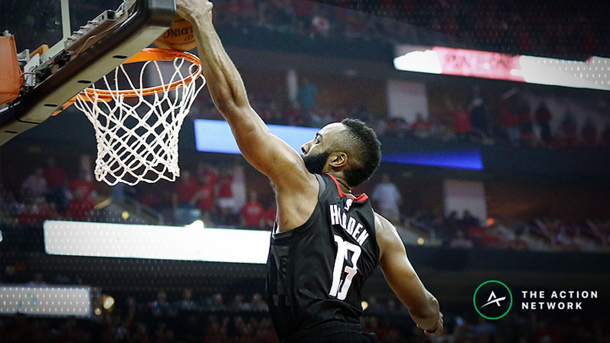 2018-19 NBA Scoring Title Odds: James Harden Favored to Repeat article feature image